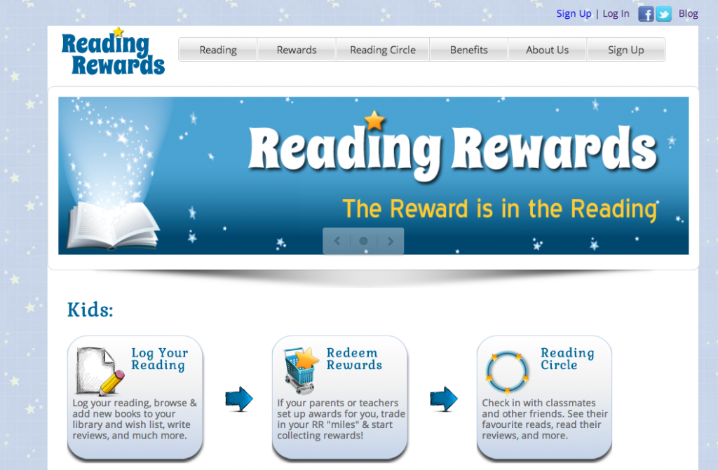 New Reading Rewards