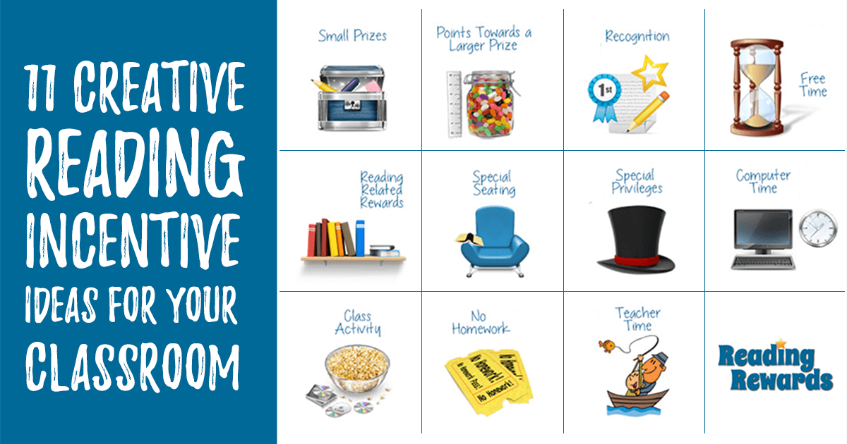 Classroom Reward Ideas Elementary ~ Creative reading incentive ideas for your classroom