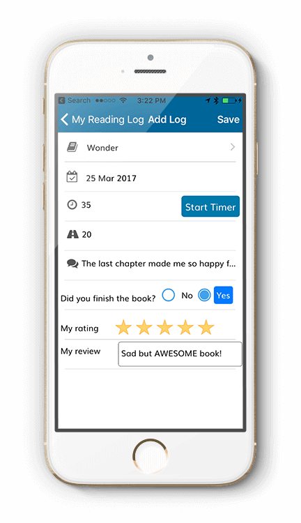 Reading Rewards App | Reading Log App | Reading App for Kids