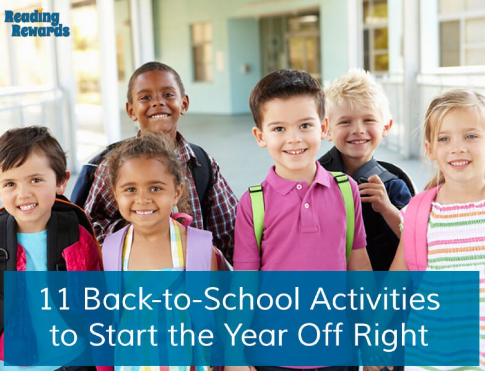 11 Back-to-School Activities to Start the Year Off Right