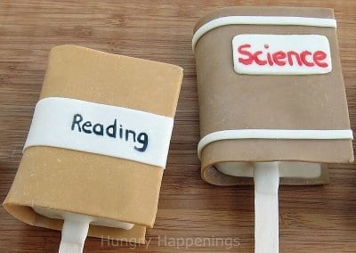 Book club snack idea edible book