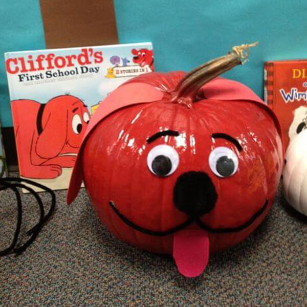 book-character-pumpkins-clifford-the-dog