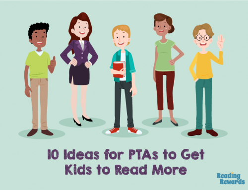 10 Ideas for PTAs to Get Kids  to Read More