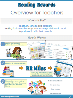 Brochure: Teacher Overview of Reading Rewards