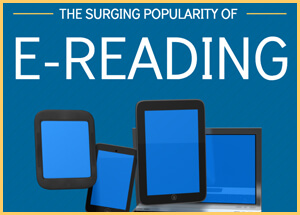 Infographic: The Surging Popularity of E-Reading