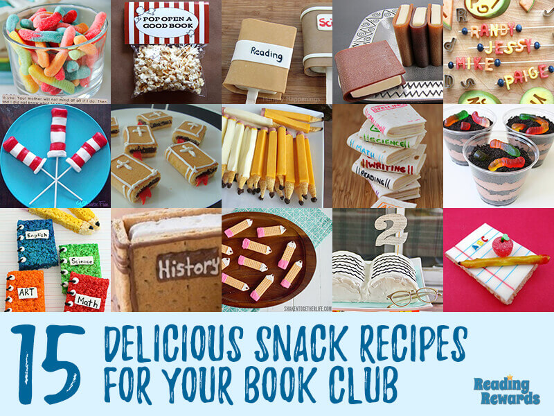 15 Delicious Book Club Snack Recipes